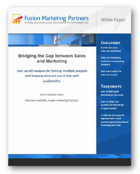 How to Synchronize Marketing and Sales for Superior Performance